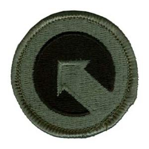 1st Logistical Command Patch Foliage Green (Velcro Backed)