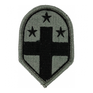 332nd Medical Brigade Patch Foliage Green (Velcro Backed)