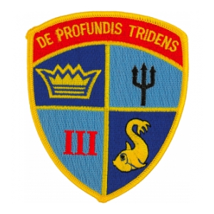 Navy Submarine Squadron 3 Patch