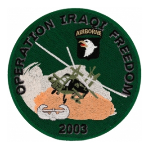 Operation Iraqi Freedom Patch (101st  Airborne)