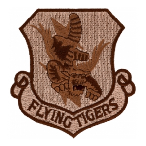 Flying Tigers Patch Desert
