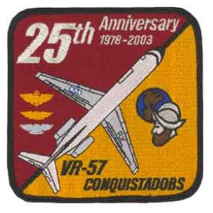 VR-57 Conquistadors 25th Anniversary Patch