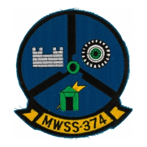 Marine Wing Support Squadron MWSS-374 Patch