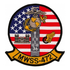 Marine Wing Support Squadron MWSS-472 Patch