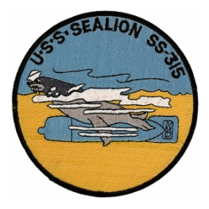 USS Sealion SS-315 Patch