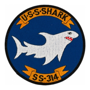 USS Shark SS-314 Patch