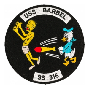 USS Barbel SS-316 Patch