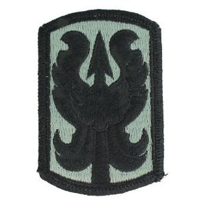 199th Infantry Brigade Patch Foliage Green (Velcro Backed)