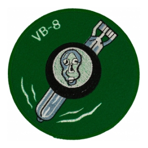 Navy Bombing Squadron VB-8 Patch