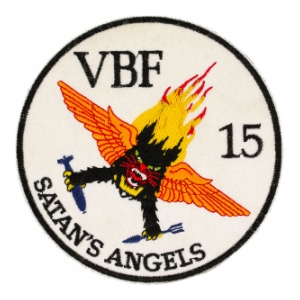 Navy Bomber - Fighter Squadron VBF-15 Patch
