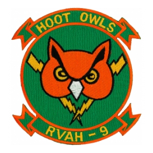 Navy Reconnaissance (Heavy) Attack Squadron Patch RVAH-9