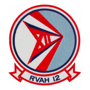 Navy Reconnaissance (Heavy) Attack Squadron Patch RVAH-12