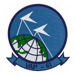 Navy Heavy Photographic Squadron Patch VAP-61
