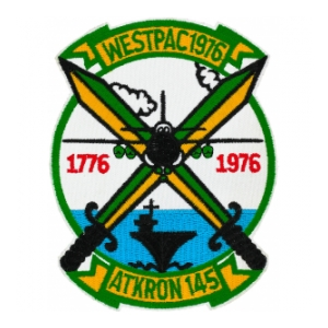 Navy Attack Squadron VA-145 / WESTPAC 1976 Patch