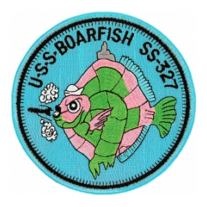 USS Boarfish SS-327 Patch