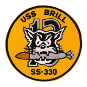 USS Brill SS-330 Patch