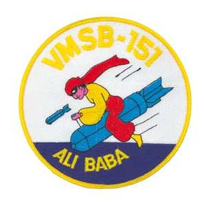 Scout Bombing Squadron Patch VMSB-151