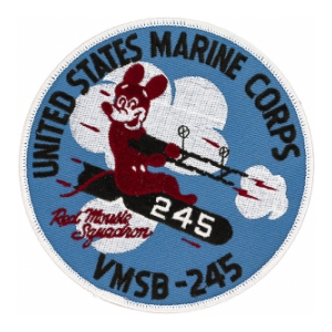 Scout Bombing Squadron Patch VMSB-245