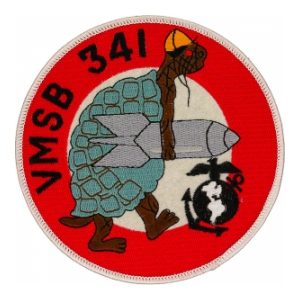 Scout Bombing Squadron Patch VMSB-341