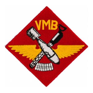 Marine Bomber Squadron VMB-612 Patch