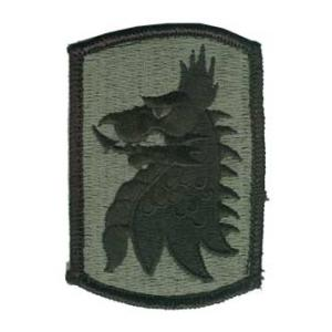 455th Chemical Brigade Patch Foliage Green (Velcro Backed)
