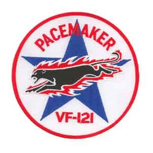 Navy Fighter Squadron VF-121 Patch