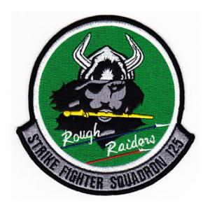 Navy Strike Fighter Squadron VFA-125 Patch