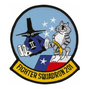 Navy Fighter Squadron VF-201 Patch