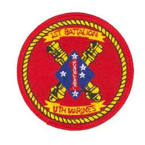 1st Battalion / 11th Marines Patch