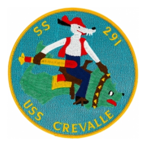 USS Crevalle SS-291 Patch