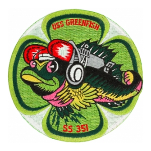 USS Green Fish SS-351 Patch