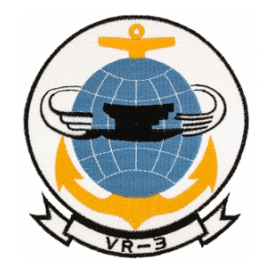 Navy Fleet Logistics Support Squadron Patch VR-3