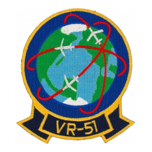 Navy Fleet Logistics Support Squadron Patch VR-51