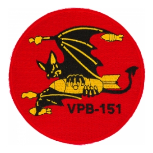 Navy Patrol Bombing Squadron VPB-151 Patch