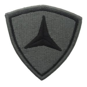 3rd Marine Division Patch Foliage Green (VELCRO® brand Backed)
