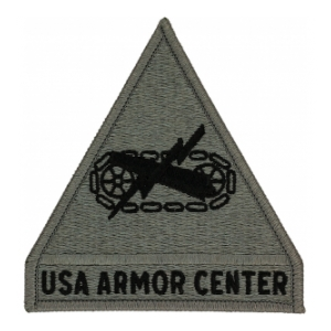 Armor Center Patch Foliage Green (Velcro Backed)