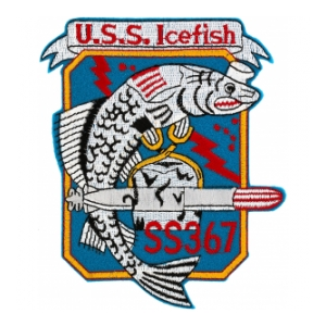 USS Icefish SS-367 Patch