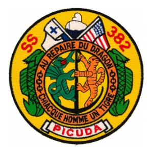 USS Picuda SS-382 Patch
