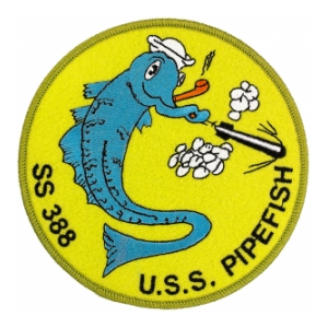 USS Pipefish SS-388 Patch