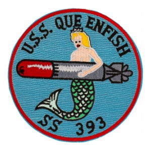 USS Queenfish SS-393 Patch