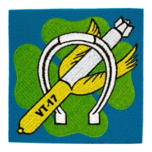 Navy Torpedo Bombing Squadron VT-17 Patch
