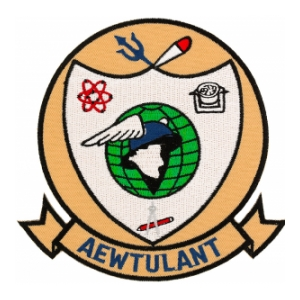 AEWTULANT Airborne Early Warning Training Unit Atlantic Patch