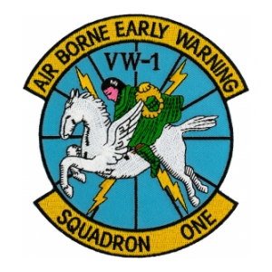 Navy Weather Recon Squadron VW-1 Patch