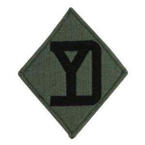 26th Infantry Division Patch Foliage Green (Velcro Backed)