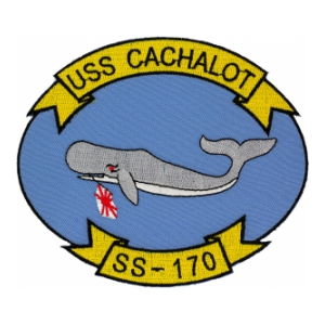 USS Cachalot SS-170 Patch