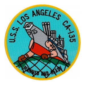 USS Los Angeles CA-135 Ship Patch