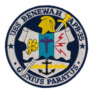 USS Benewah APB-35 Ship Patch