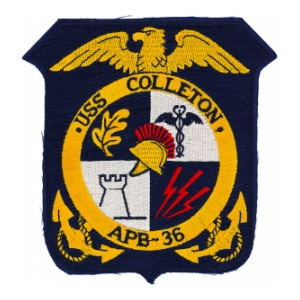 USS Colleton APB-36 Ship Patch