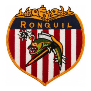 USS Ronquil SS-396 Patch