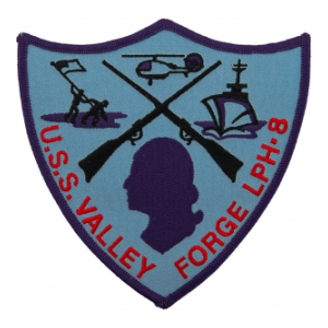 USS Valley Forge LPH-8 Ship Patch